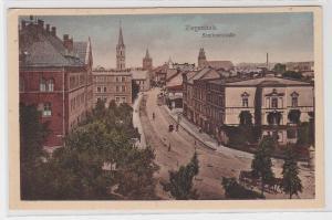 91097 Ak Ziegenhals Głuchołazy Seminarstrasse um 1920