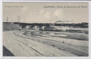 71042 Ak Leixões Portugal - Ponte do Caminho de Ferro 1914
