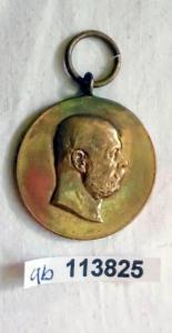 Bronze Medaille Ernst Herzog von Sachsen Altenburg 3.August 1903 (113825)