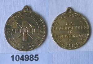 Medaille 16.Verbandstag der S.A. Feuerwehren in Breitenhain 1899 (104985)