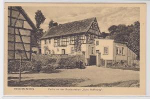 72150 AK Reichelsheim - Partie an der Restauration