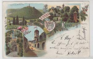 94762 Ak Lithographie Gruss von der Kynsburg 1900