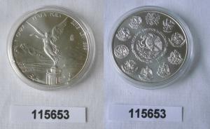 1 ONZA PLATA PURA Münze Mexiko 1 Unze 999 Silber TOP 2015 (115653)