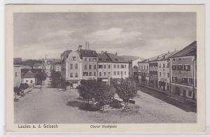 79018 AK Laufen an der Salzach - Oberer Stadtplatz, Bahnpost 1928