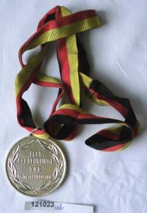 DDR Medaille Fest der Lehrlinge VVB NE-Metallindustrie Nordhausen 1966 (121023)