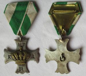 Orden königlich sächsischer Militär Verein Angercrottendorf Stünz (101720)