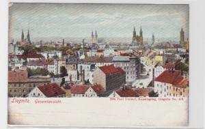 81337 AK Liegnitz - Gesamtansicht mit Kirchen, Rathaus und Kathedrale 1906