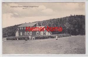 82959 Ak Clubhaus Hoherodskopf (Vogelsberg) 1913