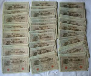 100 Banknoten zu 1000 Mark 21.April 1910 Deutsches Kaiserreich (126217)