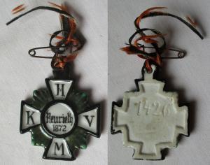 Orden königlich Militär Verein Hildburghausen Reurieth 1872 (109862)