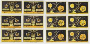 6 Banknoten Notgeld Gemeinde Bokelsess o.D. (1921) (122845)