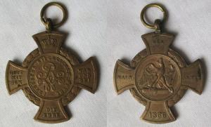 Preussen Erinnerungskreuz Der Main-Armee 1866 (113624)