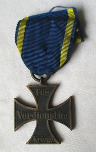 Braunschweig Kriegsverdienstkreuz 2.Klasse 1.Weltkrieg 1914 (113871)