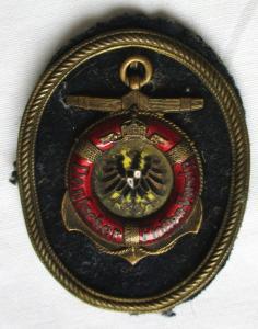 Kaiserlicher Deutscher Flottenverein, Abzeichen für die Schirmmütze (123710)