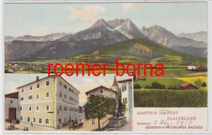 82742 Mehrbild Ak Saalfelden Gasthof zur Post um 1910