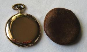 0,585 Goldene Savonette Sprungdeckel Taschenuhr Karl Zarbl Wien um 1900 (135855)