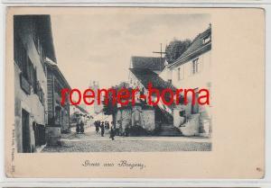 75446 Ak Gruß aus Bregenz Ortsansicht um 1900