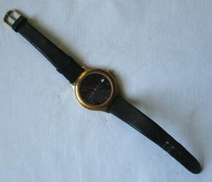 Seltene Junghans Solar 1 - Armbanduhr mit Lederarmband (134033)