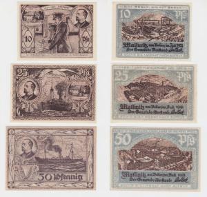 10 - 50 Pfennig Banknote Notgeld Gemeinde Mallmitz Małomice Juli 1921 (137684)