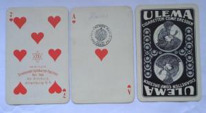 Skat Kartenspiel vereinigte Stralsunder Spielkartenfabriken um 1930 (114500)