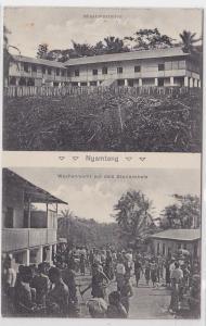 85217 Mehrbild Ak Nyamtang Kamerun Deutsche Kolonie um 1910