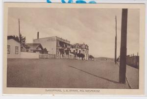 84546 Ak Swakopmund Deutsch Süd West Afrika Moltkestrasse um 1910