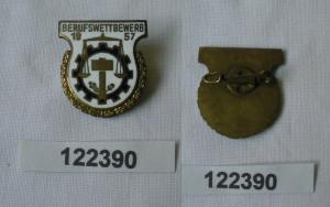 DDR Medaille 9.Berufswettbewerb FDJ 1957 für gute Leistungen (122390)