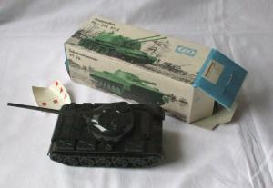 Modellbau Kampfpanzer T-54 S Pneumat Spielzeug DDR VEB Plastaform OVP (103311)