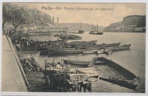 83706 Ak Porto Portugal - Rio Douro (descarga de carvao) 1914