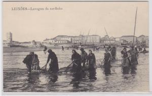 83702 Ak Leixões Portugal - Lavagem da sardinha 1915