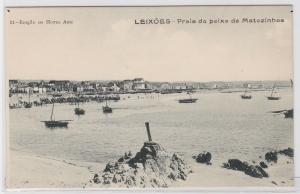 83703 Ak Leixões Portugal - Praia do peixe de Matozinhos 1915