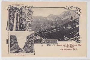 69833 Mehrbild AK Gruss v. der Dalfazer-Alm (Hochberger) am Achensee, Tirol 1921