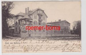 85201 Ak Gruß aus Kolberg Kolobrzeg Seehospiz 1905
