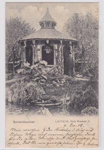 87276 Ak Leipzig Borkenhäuschen Ferdinand Rhodestrasse 11, 1902