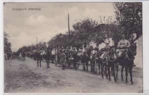78221 Ak Das Deutsche Heer im Felde Fernsprech Abteilung um 1915