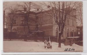 87943 Foto Ak Auerbach im Vogtland Wohnhaus um 1914