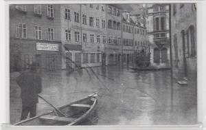 92036 Ak Nürnberg Neue Gasse bei der Hochwasser Katastrophe 1909