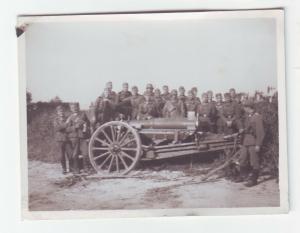 66953 Foto verlassenes französisches Geschütz im 2.Weltkrieg