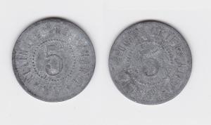 5 Pfennig Notgeld Zink Münze Friedrichswerth Eduard Meyer (122825)