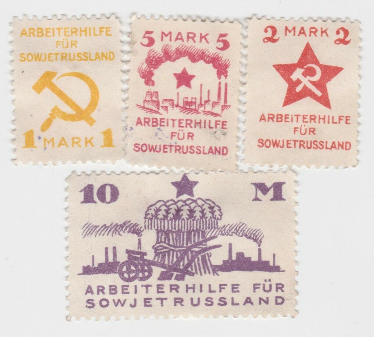 Gebrauchte Briefmarken Spenden