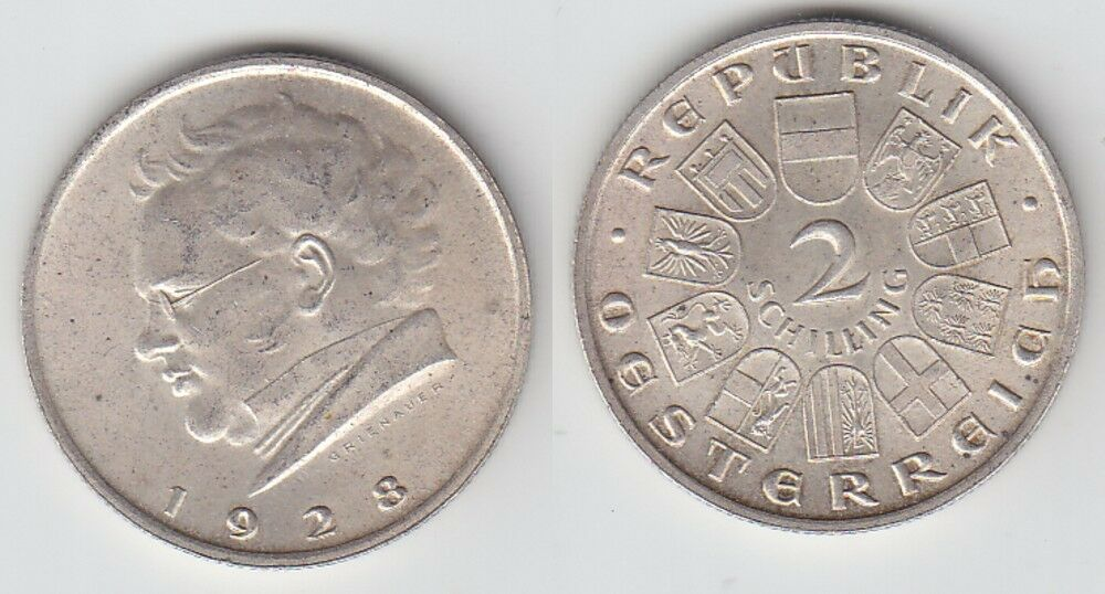 2 schilling in euro