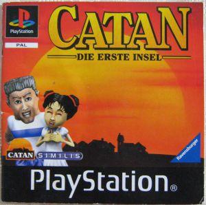 Spielanleitung CATAN Die erste Insel Playstation Ravensburger Booklet