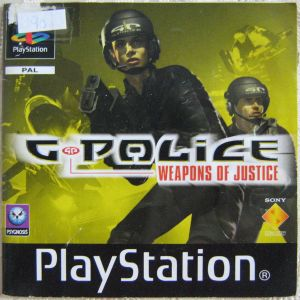 Spielanleitung G POLICE Weapons of Justice Playstation Booklet
