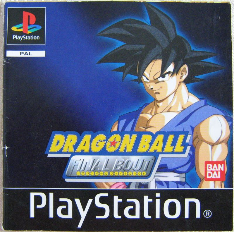 Spielanleitung Dragon Ball Playstation Booklet