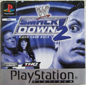 Spielanleitung Smack Down Know your Role Playstation Booklet
