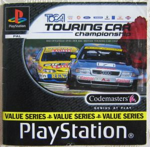 Spielanleitung Touring Car Championship Playstation Booklet