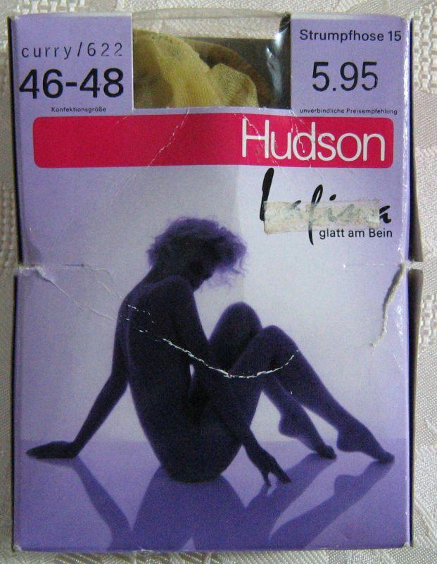 True Vintage Damen Strumpfhose HUDSON Größe 46/48 Curry