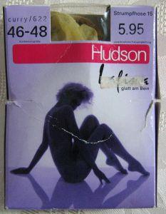 True Vintage Damen Strumpfhose HUDSON Größe 46/48 Curry 0