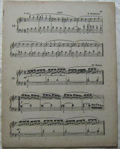 Antike Musik Noten Blätter 1901 Augener & Co. A 1028