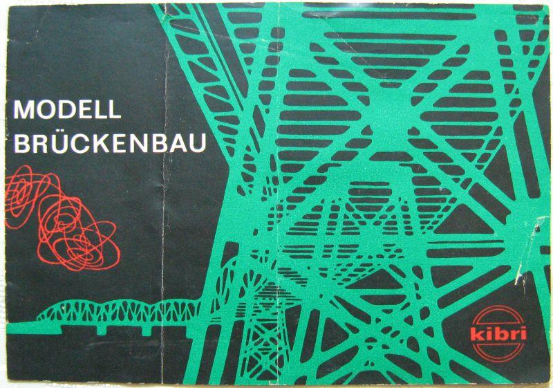 Modell Brückenbau KIBRI 1960 Ratgeber